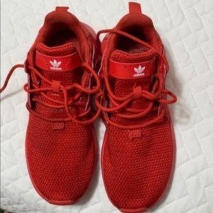 Kids Red Adidas Originals X_PLR